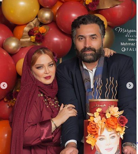 بهاره رهنما و همسرش امیرخسرو عباسی