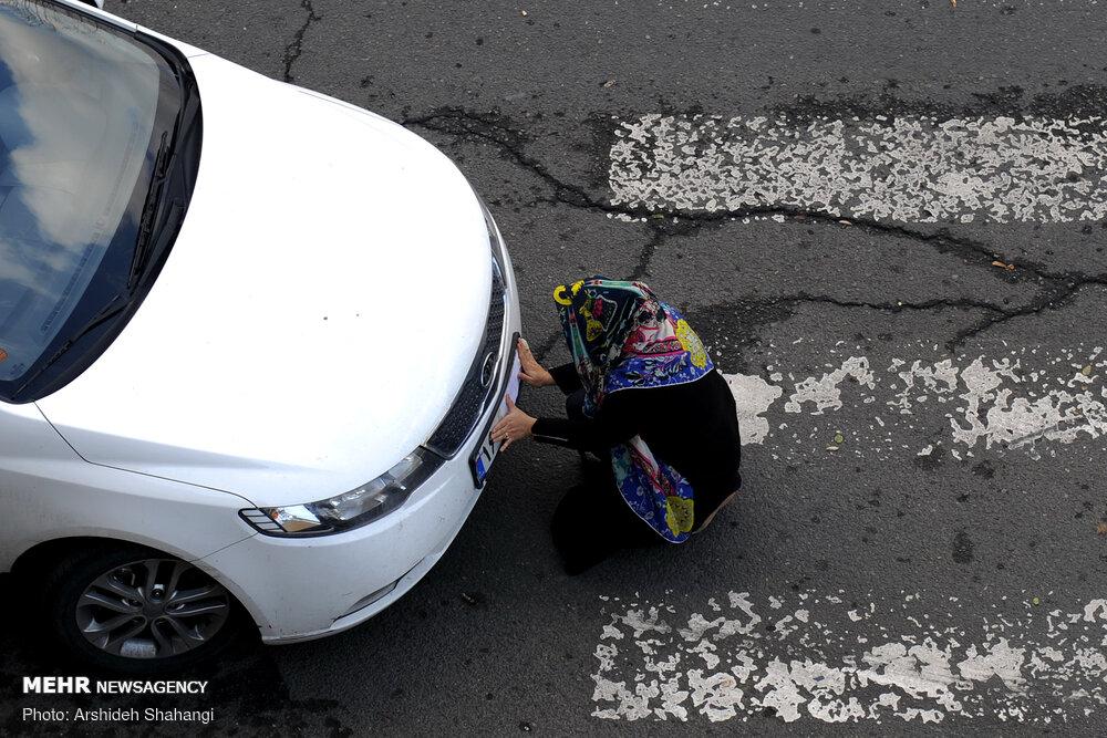 مخدوش کردن پلاک خودرو پوشاندن پلاک خودرو