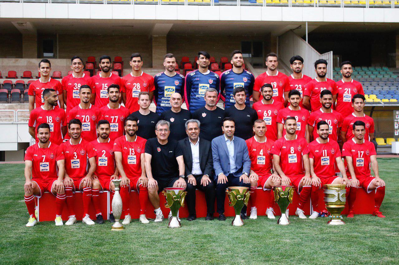پرسپولیس قهرمان لیگ هجدهم فصل 97 - 98