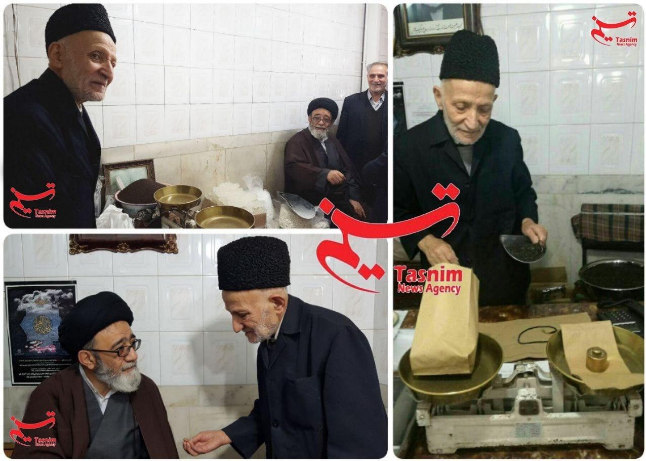 کاسب خوش انصاف تبریزی