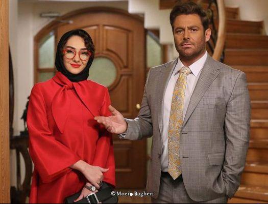 محمدرضا گلزار و هانیه توسلی در سریال گیسو