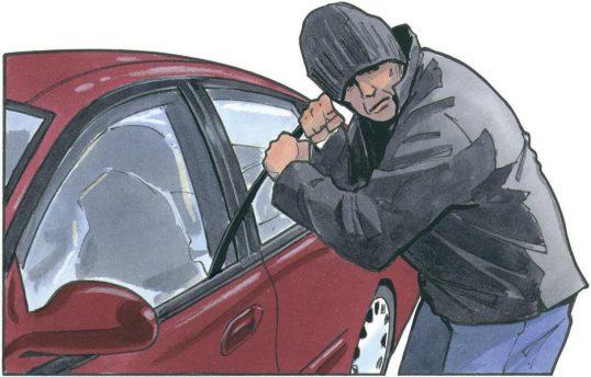 سرقت خودرو سارق خودرو