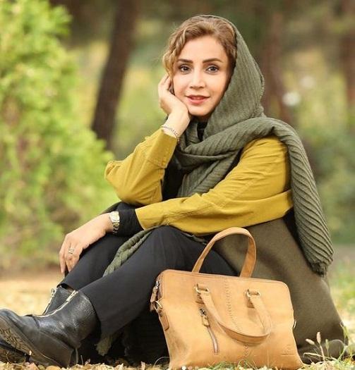 عکس های پاییزی شبنم قلی خانی