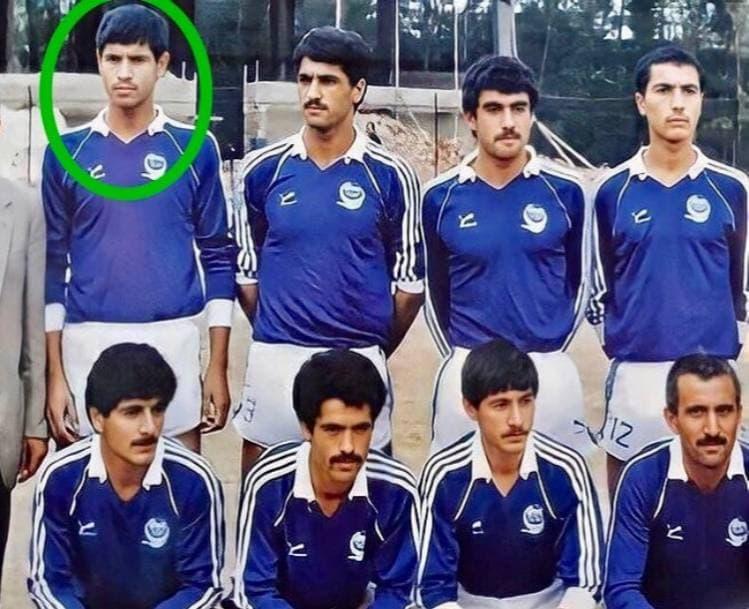 علی دایی در لباس استقلال اردبیل