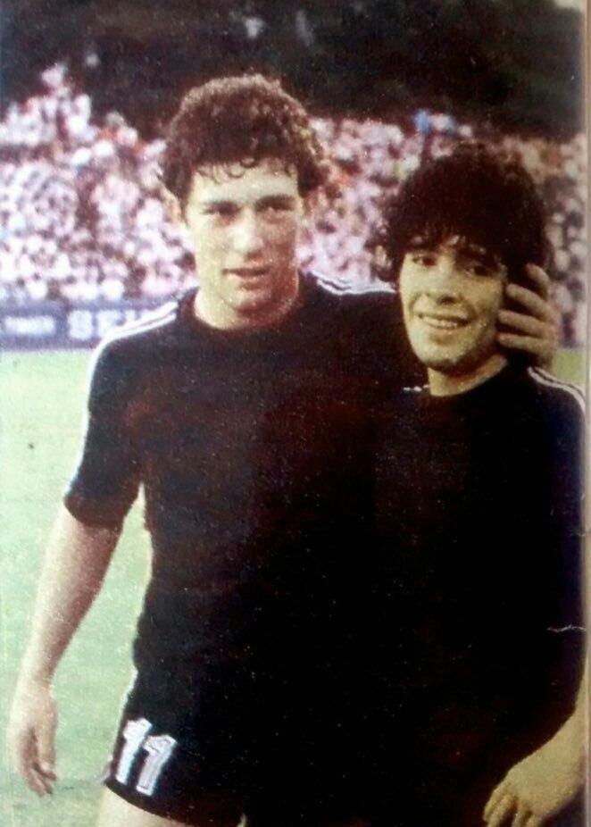 مارادونا و گابریل کالدرون