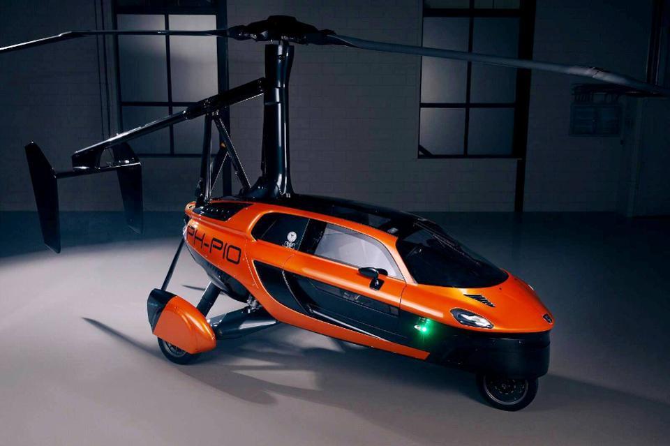 خودروی پرنده 3 چرخ