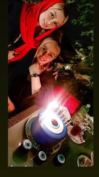 جشن تولد مادر سحر قریشی