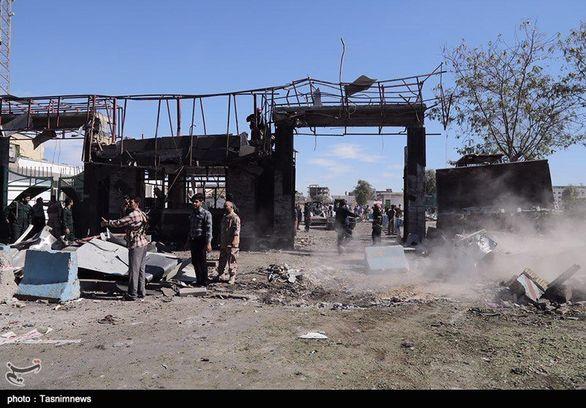 گزارش تصویری حادثه تروریستی چابهار