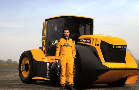 سریعترین تراکتور جهان رکورد گینس را زد
