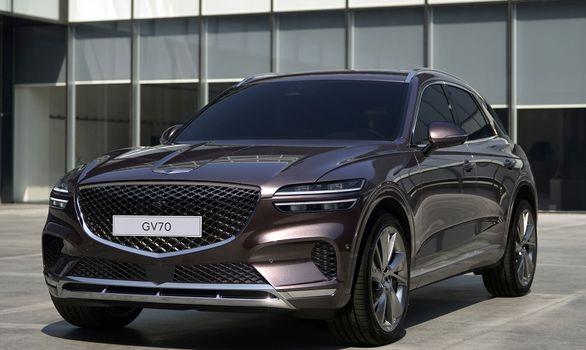 جنسیس GV70 مدل 2022 رونمایی شد