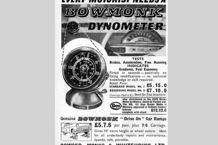 Bowmonk Dynometer
