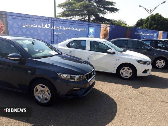 تحویل خودرو تارا آغاز شد / قیمت مصوب خودرو تارا + عکس