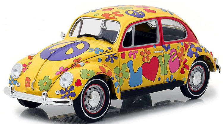 beetle peace hippie