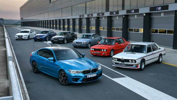 bmw M5 all generations