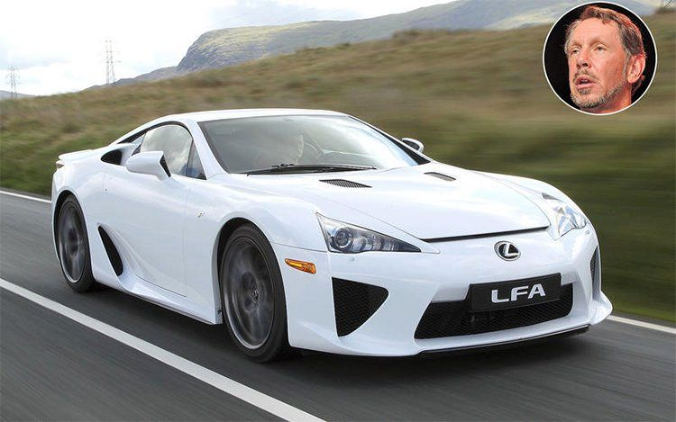 Larry Ellison - Lexus LFA