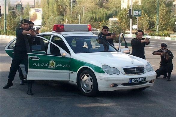 شلیک مستقیم پلیس برای دستگیری دو سارق حرفهای خودرو