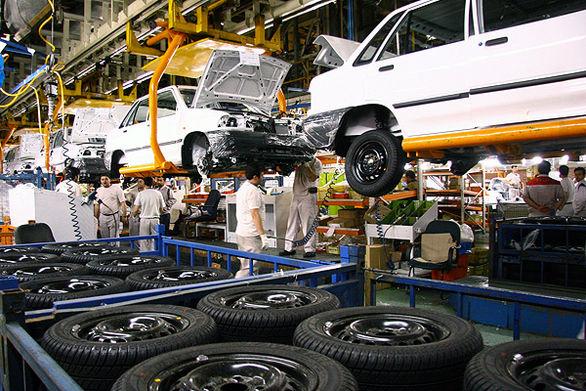 رکورد تولید روزانه خودرو در سایپا شکست