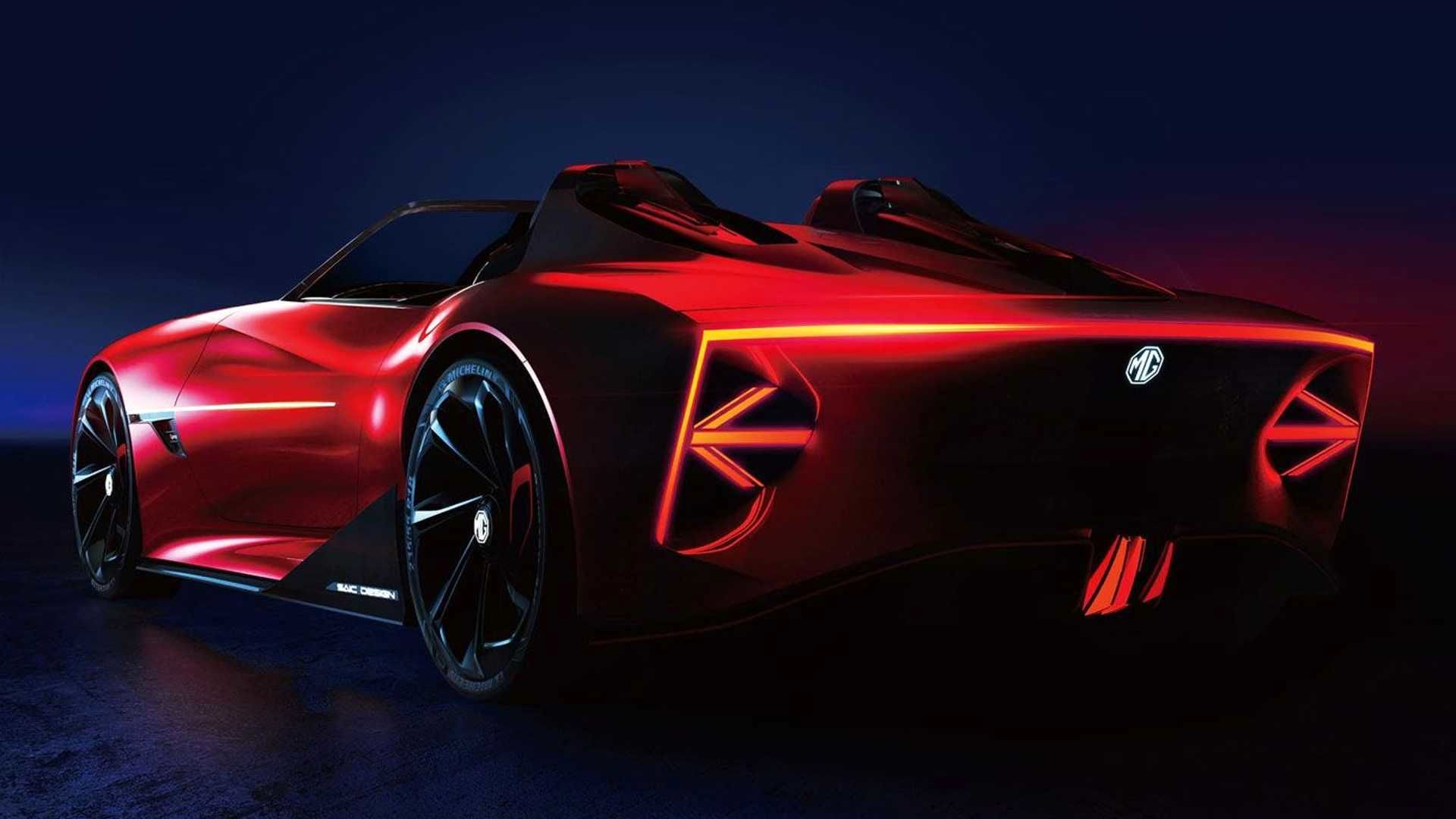 پیش نمایش مفهومی از یک اتومبیل ورزشی هیجان انگیز