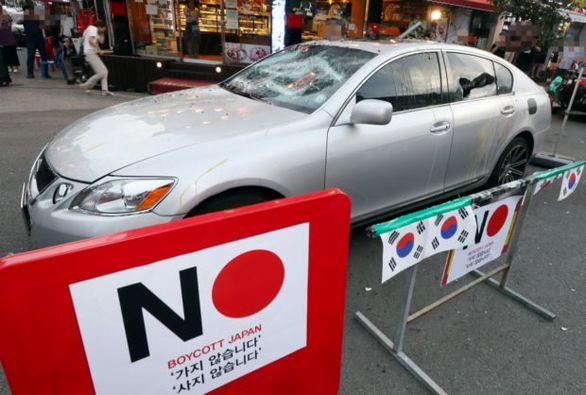 کره ای ها خودروهای ژاپنی را تحریم کردند