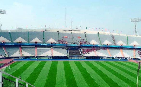 پس از زلزله درب استادیوم های ورزشی تهران به روی مردم باز شد