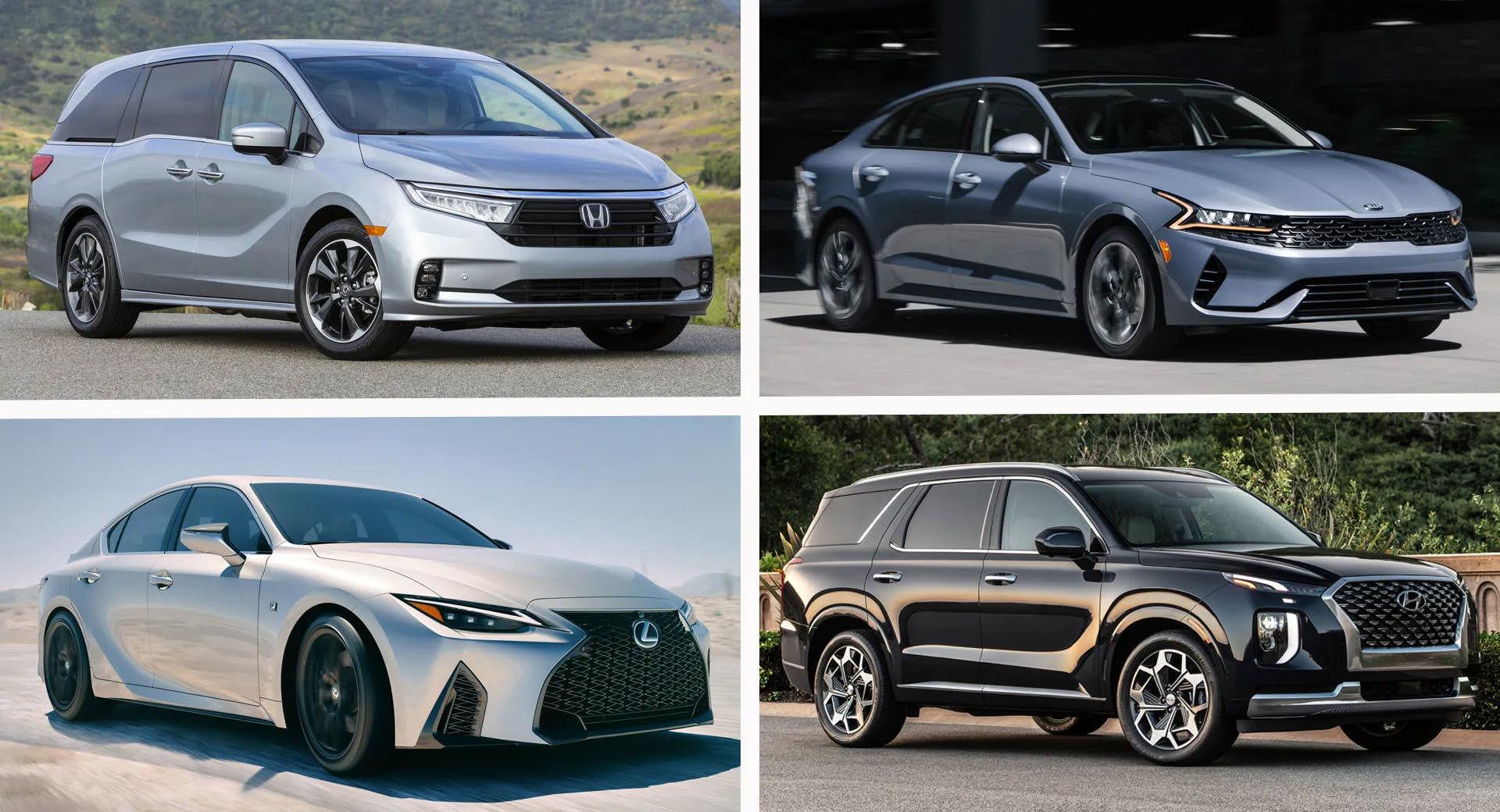 خودرو های 2021