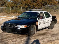 خداحافظی با فورد کراون ویکتوریا در گشت پلیس بزرگراه کالیفرنیا