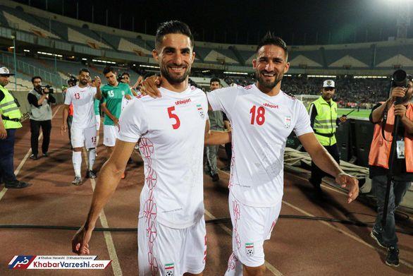 اولین حضور دوقلوها در ترکیب تیم ملی فوتبال ایران (عکس)