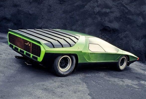 آلفارومئو کارابو / سوسک سبزی که فقط یک دستگاه از آن ساخته شد