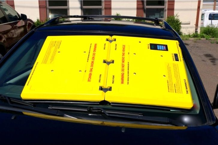 جریمه عجیب خودروهای متخلف در آمریکا (تصاویر)