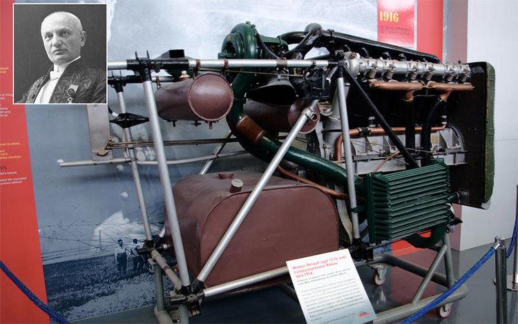 August Rateau engine