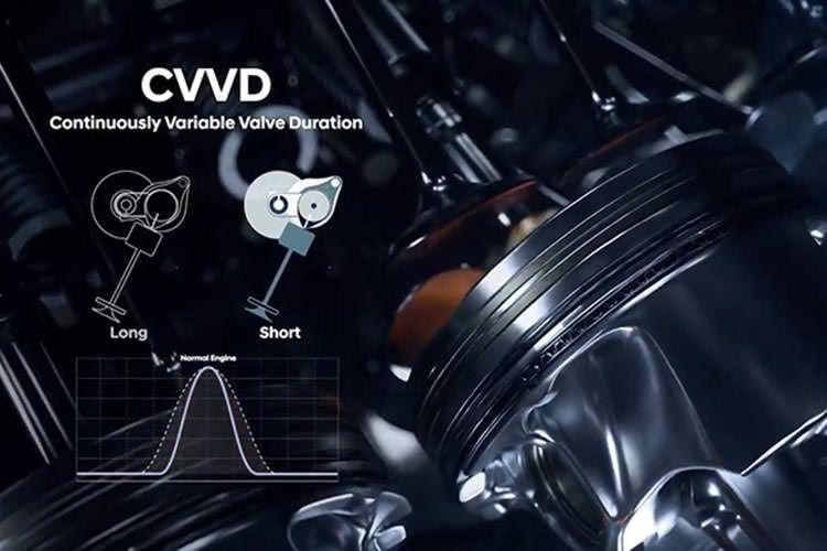 Hyundai CVVD Engine / پیشرانه هیوندای