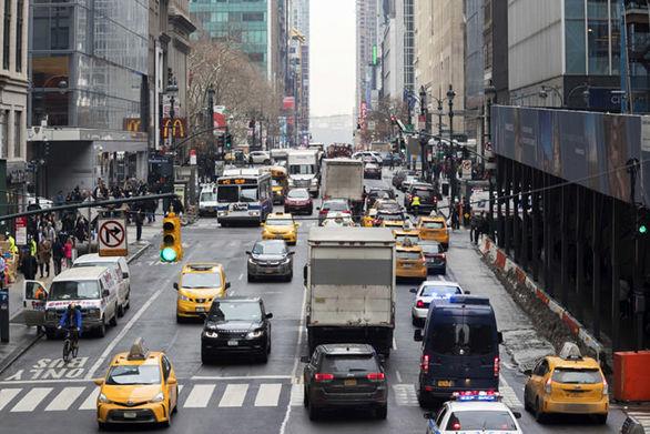 نیویورک رکورددار میزان ترافیک در آمریکا