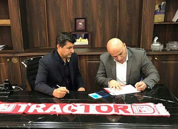 علیرضا منصوریان با شال قرمز به لیگ برمی گردد (عکس)