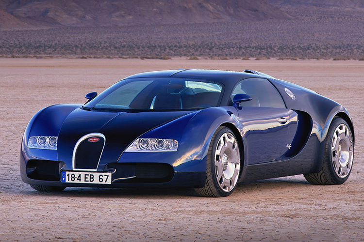 Bugatti EB 18.4 Veyron Concept