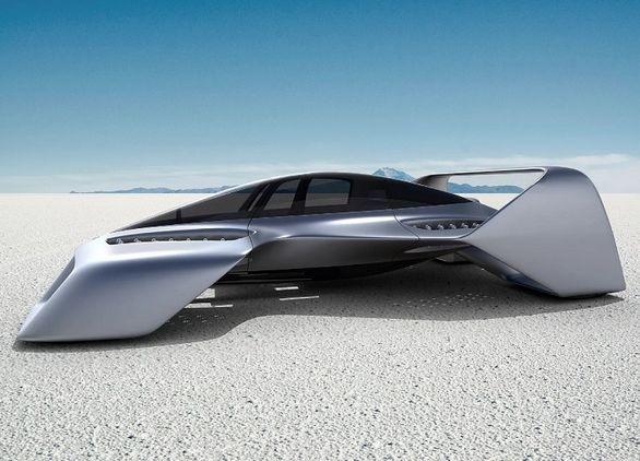 خودروی پرنده با سرعت 400 کیلومتر در ساعت