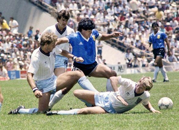 3 قاب تاریخی از مارادونا در جام جهانی 1986 + عکس