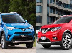 کدام را بخریم؟ تویوتا RAV4 یا نیسان X-Trail؟