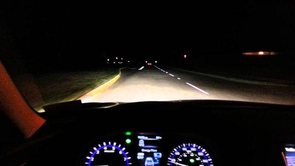 آموزش رانندگی حرفه ای در شب
