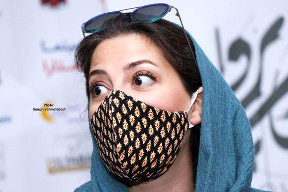 تیپ تابستانی طناز طباطبایی با ماسک لاکچری (عکس)