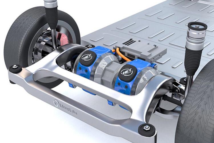 HET electric motor / موتور الکتریکی خودروی برقی
