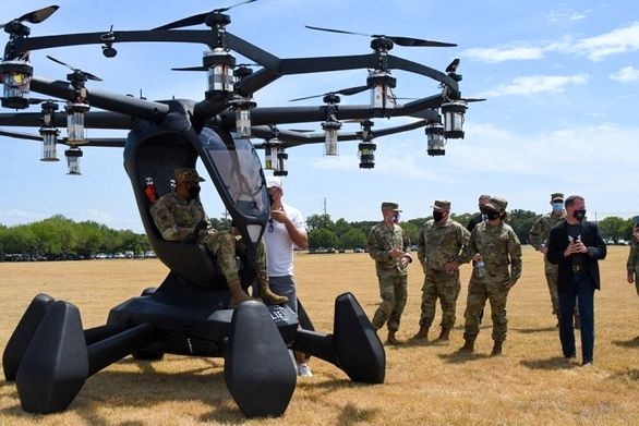 خودروی پرنده ارتش آمریکا آزمایش شد
