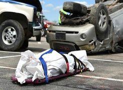 رئیس پلیس: 56 کشته و 1100 مجروح حوادث جاده ای فقط در 48 ساعت