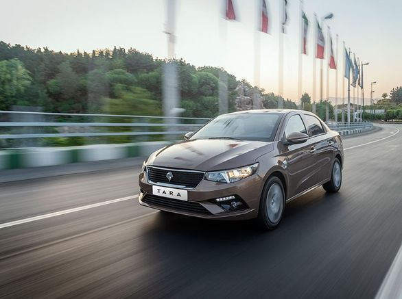 تحویل خودرو تارا دنده اتومات در انتظار قیمت گذاری