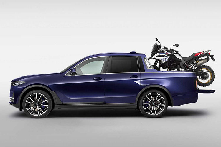 BMW X7 Pickup Truck / وانت مفهومی بی ام و x7