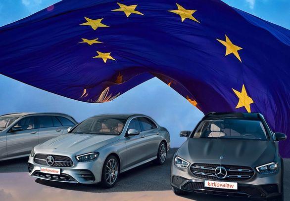 بازار خودروی اروپا آب رفت