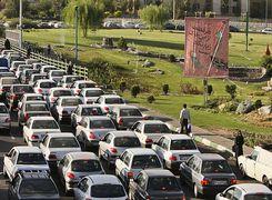 چند دستگاه خودرو در تهرا است؟