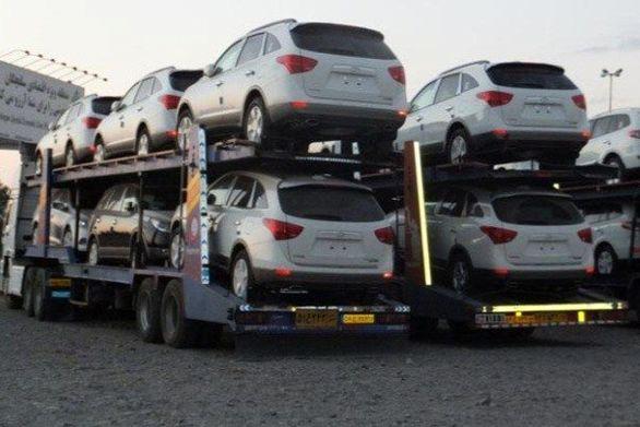 عکس   توقیف یدک کش حامل خودروهای قاچاق ۱۸ میلیارد تومانی در اتوبان کرج!