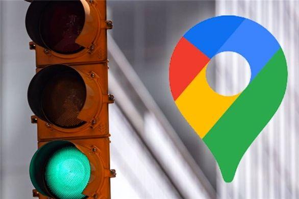 طرح جدید گوگل برای چراغ های راهنمایی و رانندگی
