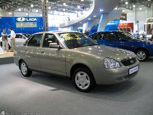 لادا پرییورا پرفروش ترین خودرو در سال 2009 / 2012