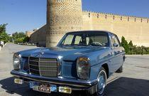 تصاویر | گردهمایی خودروهای کلاسیک در ارگ کریمخان شیراز
